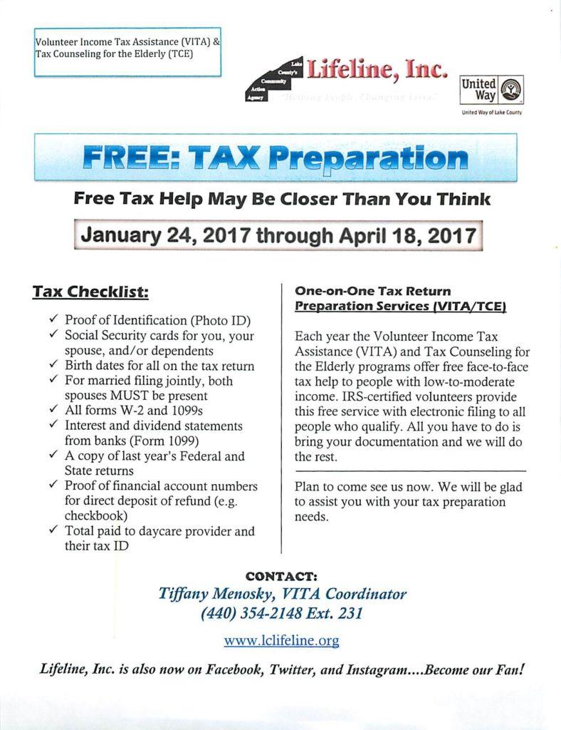 FREE Tax Preparation - Details below - Beacon HealthBeacon